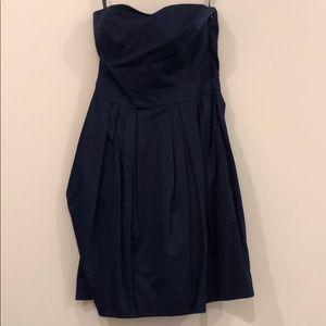 Cynthia Rowley strapless pleated dress